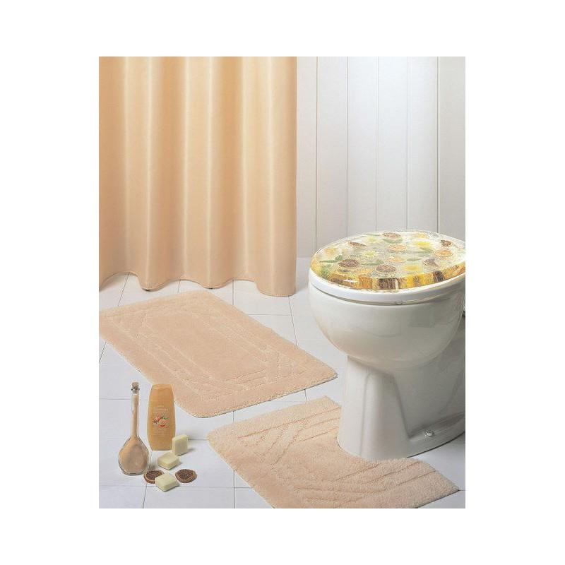 rideau de douche baignoire emaux 180 x 180 cm sable. Black Bedroom Furniture Sets. Home Design Ideas
