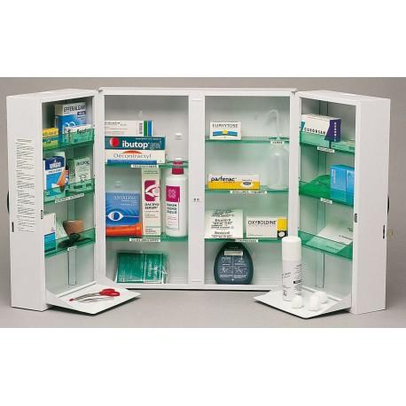 Armoire à pharmacie - clinix 2 portes