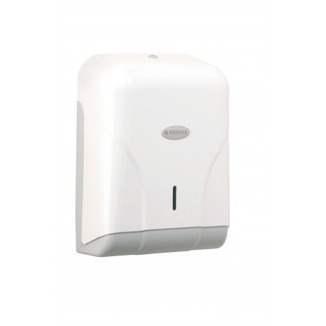 Distributeur Oléane pour 400 feuilles Blanc/Gris - ABS