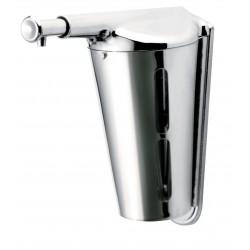 Distributeur de savon liquide Cony Antivandalisme 345 ml - Inox brillant