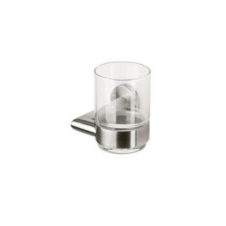 Porte-verre (Inox brossé) - Nemox Collection