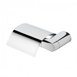 Porte papier rouleau simple avec couvercle - Wynk Collection