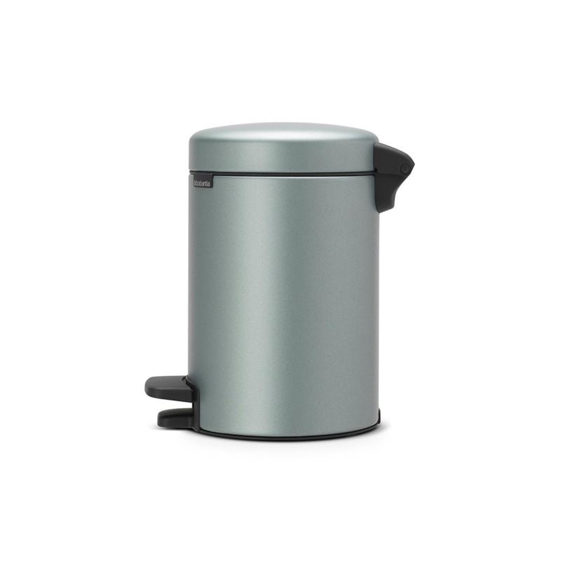 poubelle zinc pedale. Black Bedroom Furniture Sets. Home Design Ideas