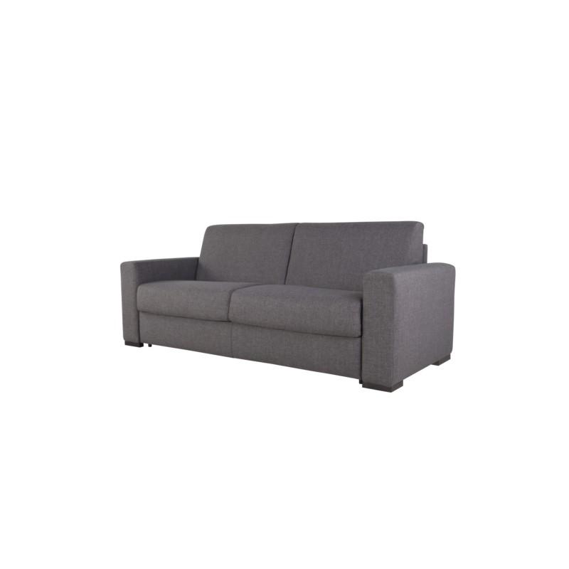canape convertible 3 places 140cm tissu kenya matelas 14cm m00012. Black Bedroom Furniture Sets. Home Design Ideas
