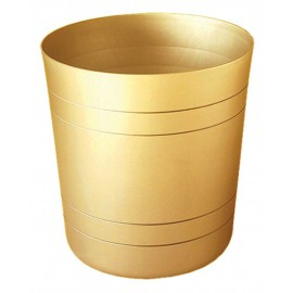 Corbeille Design Alu argent (8 litres)