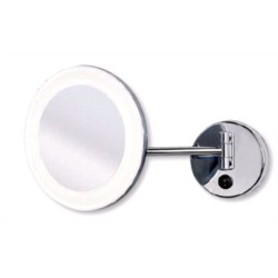 MIROIR SUR BRAS LUMIERE LED COLLECTION BOAN CHROME (A32521ES)