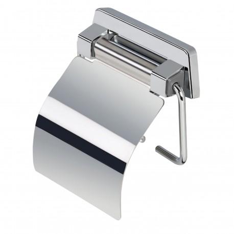 Porte-papier rouleau inox brillant