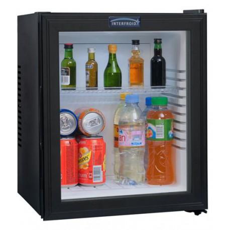 Minibars Courtoisy® Porte vitrée 35 litres Noir