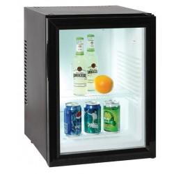 Minibars Courtoisy® Porte vitrée 40 litres Noir