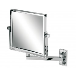 Miroir Rétro sur bras simple, carré double face