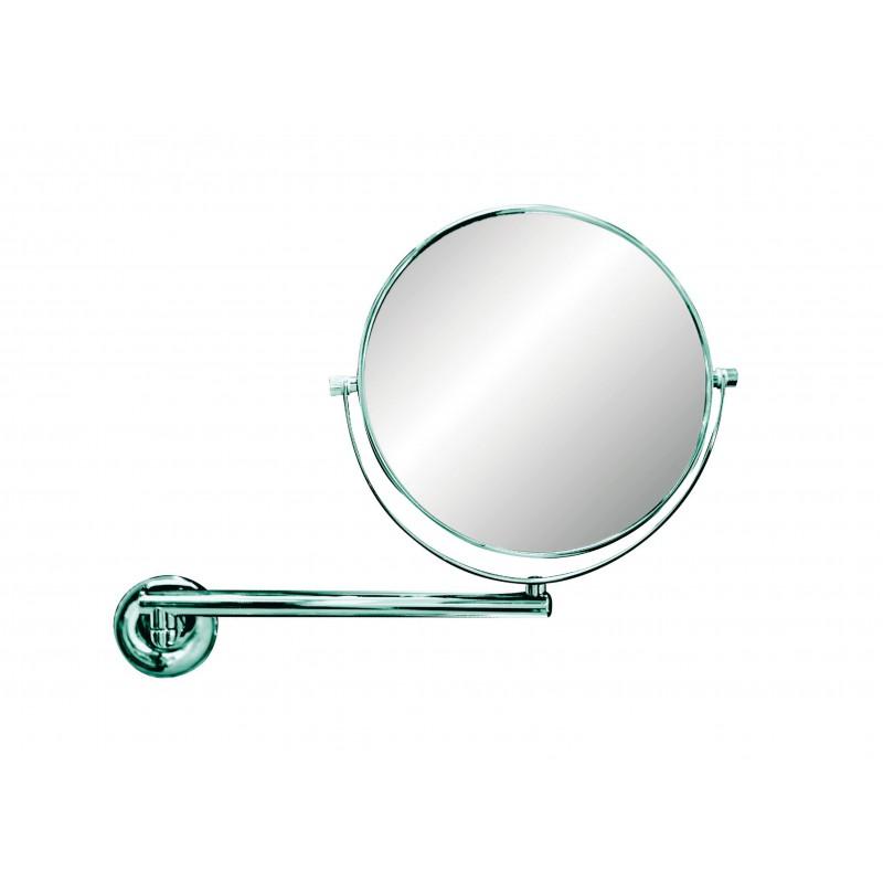 Miroir sur bras simple luna collection g5524 h tels for Miroir simple